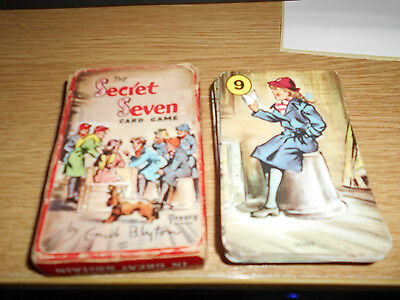 The Secret Seven-Card Game by Enid Blyton A Pepys Game