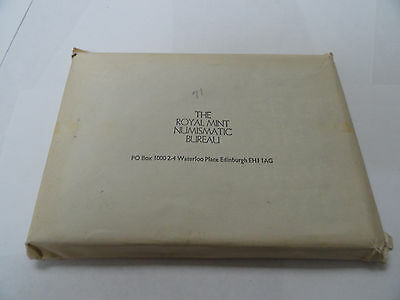 The Royal Mint Of Great Britan  Proof Coin Set (1971)