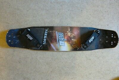mbs Core 16 mountainboard deck and bindings. POSTAGE AVAILABLE