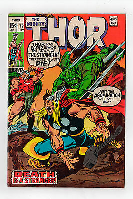 THOR (The Mighty...) #178 (John Buscema)