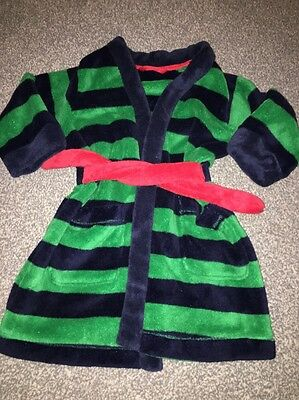 Boys Dressing Gown 18-24 Months M&S