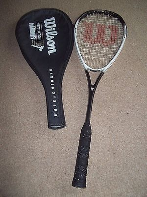 Wilson Hammer Sting  Squash Racket With Cover