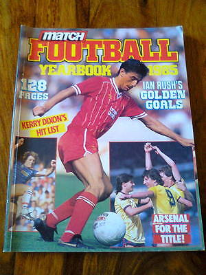 Match Football Yearbook - 1985 - Emap Books