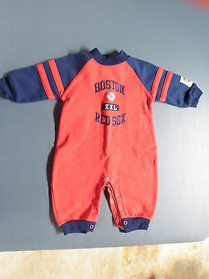 Boston Red Sox Infant Outfit--Size 12 Months