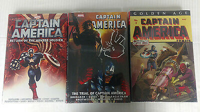 Marvel Omnibus Captain America Lot! - New and Sealed!