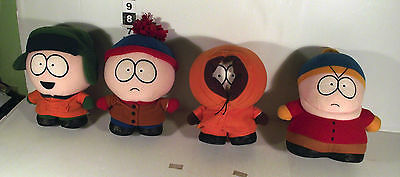 "4 x 7"" SOUTH PARK SOFT TOY SOUTHPARK - KYLE ERIC CARTMAN KENNY STAN"