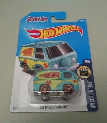 Scooby-doo mystery machine Hot wheels car