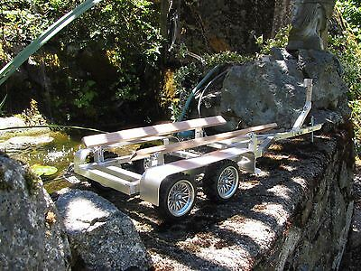 Just Finish, Rc-Boat Trailer For Your Speed Boat, All Hand Made,