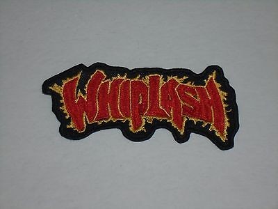 Whiplash Speed Thrash Metal Embroidered Patch