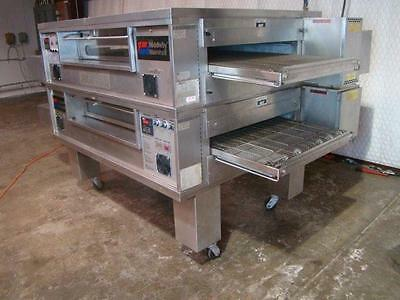 Middleby Marshall Ps570 Nat. Gas Conveyor Pizza Oven.....watch  Video Demo