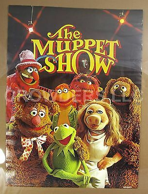"Jim Henson 1976 The Muppet Show Poster 20x28"" Kermit Fozzie Scooter Animal Gonzo"