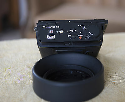 Mamiya RB 6x8 120/200 motorized back for RB67