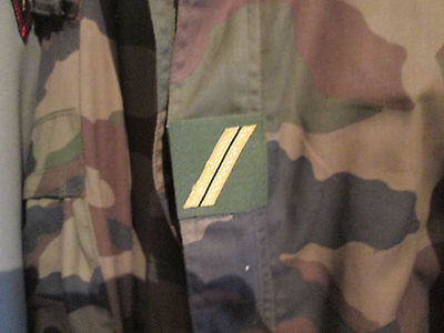 French Foreign Legion Etrangere-current patch regulary rank camo  - sergent