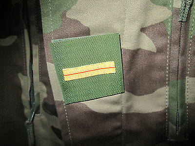 French Foreign Legion camo-c.c.e-current patch regulary rank - adjudant chef