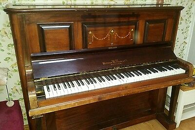 Upright Piano late Victorian/Edwardian