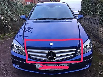 New Genuine Mercedes Clc Coupe Front Grill Complete 2008 To 2010  A2038801583