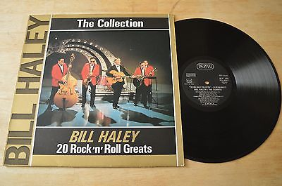 The Bill Haley Collection 20 Rock 'N' Roll Greats Vinyl Record LP DVLP2069 Rare