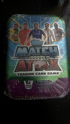 Topps Match Attcks Trading Card Game 2015-2016 New Sealed Tin