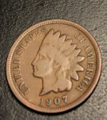 1907 US Indian Cent #64