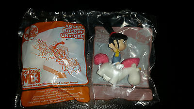 MCDONALDS Happy Meal Toy - Despicable Me 3 - Agnes' Rockin' Unicorn (BRAND NEW)