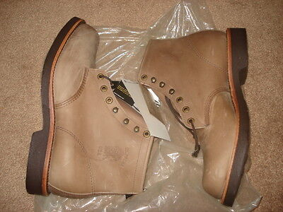 "Chippewa Men's Classic 6"" 20067 Lace-Up Work Boot Round Toe Size 10EE"