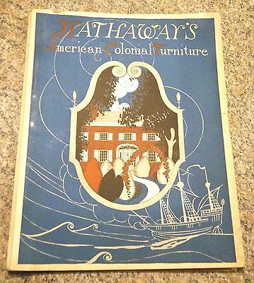 Hathaway's American Colonial Furniture NYC Catalog & Price List 1922 Many Photos