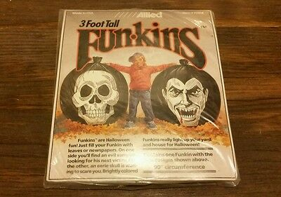 Allied SCARY DRACULA VAMPIRE 3' Funkins EERIE SKULL Halloween FH914 NEW SEALED