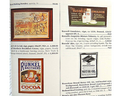 Collectible Advertising Signs Gas Beer Soda Tobacco etc… Book Huxford 1993 VGC