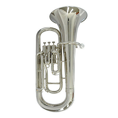 Schiller Elite III Euphonium with Convertible Marching Pipe