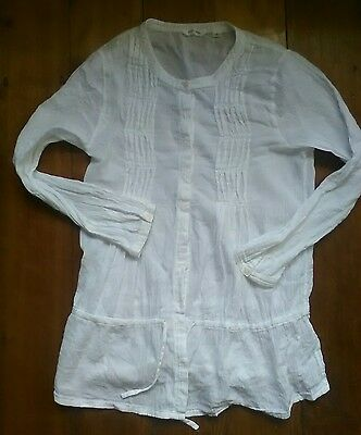 Girls size 12 Country road designer cotton long top