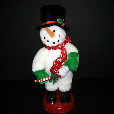 """Gemmy Animated Frosty The Snowman Shakes Booty SEE VIDEO 18"""" Dances Christmas"""