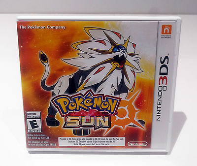 Pokemon Sun - Nintendo 3DS 2017 - Like NEW Condition