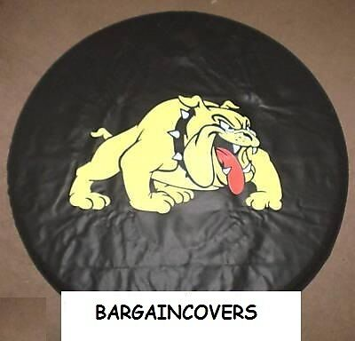 cartoon DOG soft vinyl wheel cover rear spare tyre wheelcover Fits All 4x4