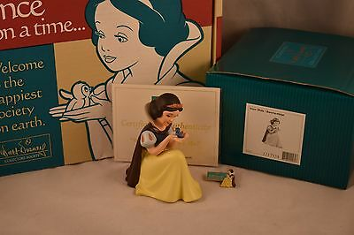 """WDCC SNOW WHITE """"WON'T YOU SMILE FOR ME?"""" 2002 MEMBERSHIP w/PIN and COA"""