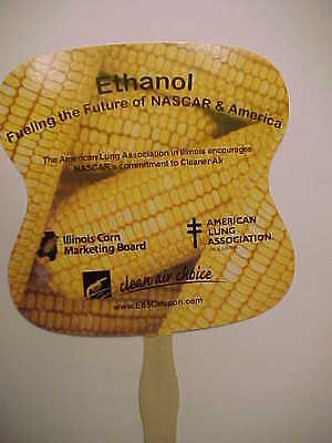 Ethanol, Illinois Corn Mktg Board, American Lung, Nascar Advertising Fan