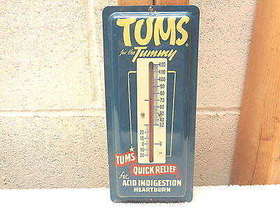 Vintage TUMS For the Tummy Thermometer~Works~Excellent!