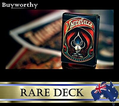 Vaudeville Playing Cards Act 1 Blue Crown Edition Rare Deck Magic Brand New
