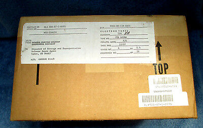 200 Tubes Nos Nib General Electric 6Ak5 6Ak5W 5654 5654W 6J1 403A Sealed Case