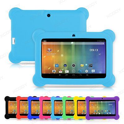 XGODY 7 Inch Tablet Silicone Gel Protective Case Cover Gift Universal for Kids