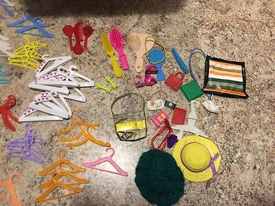 Large Lot Of Barbie/Tammy Items
