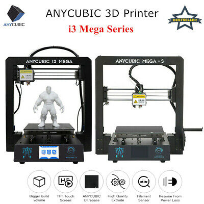 Anycubic 3D Printer I3 Mega All-Metal Color Screen Industrial Grade PLA/ABS/Wood