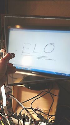 """ELO Touch Screen Digitizer Glass Assembly With Controller + RS-232  18"""" diagonal"""