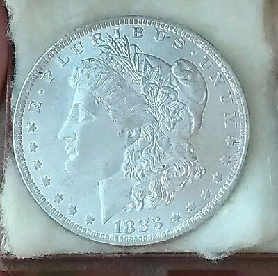 1883 O US Morgan Silver Dollar Unc