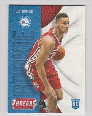 16/17 THREADS ROOKIE RC SP #209 76ers - BEN SIMMONS #1