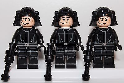 NEW LEGO STAR WARS Minifigures: 3x IMPERIAL NAVY TROOPERS Minifigs DEATH STAR SW