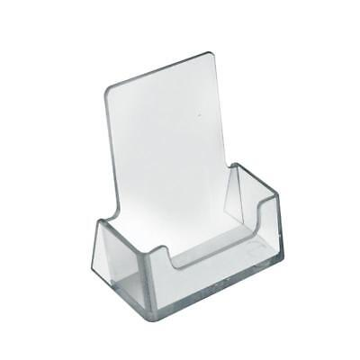 5x Acrylic Business Card Holder Shop Counter Retail Display Stand Dispenser Tray