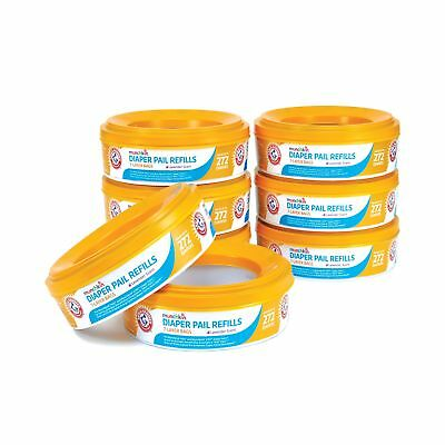 Munchkin Arm and Hammer Diaper Pail Refill Rings 2176 Count