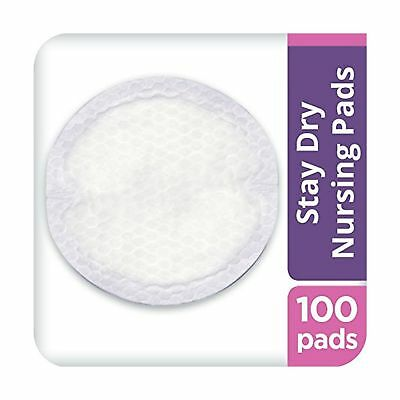 Lansinoh Stay Dry Disposable Nursing Pads 100 Count