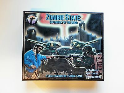 ZOMBIE STATE Diplomacy of the Dead Board Game