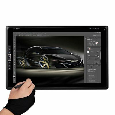 """Huion GT185 18.4"""" Graphic Pen Tablet Monitor 1366x768 Screen 8 HotKey Display AU"""